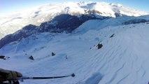 Adrénaline - Ski : Caméra embarquée dans la neige des Arcs