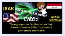 """USA. Leurs armes """"scalaires"""" (électromagnétique) utilisées en Irak et ailleurs... Lire descriptif."""