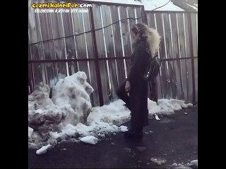 Kar Görünce Ninjaya Dönüşen Kız