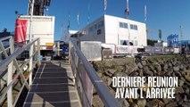 DERNIERE REUNION AVANT L'ARRIVEE - VENDEE GLOBE 2016/2017 - VOILE BANQUE POPULAIRE