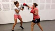 kick boxing st sulpice  toucher pas être toucher