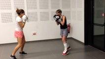 Kick boxing st sulpice femmes toucher pas être toucher
