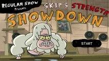 Regular Show - Skips Strength Showdown - Regular Show Games