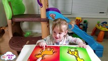 Learn ANIMALS NAMES SOUNDS for Children Learning Videos Teaches Animals Eli with Educational Book