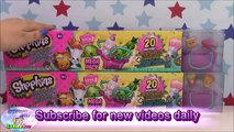 SHOPKINS SEASON 3 Mega Pack 20 Shopkins Unboxing Review - Surprise Egg and Toy Collector SETC