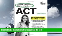 PDF [FREE] DOWNLOAD  English and Reading Workout for the ACT, 2nd Edition (College Test