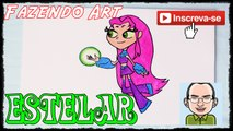 Starfire - How to draw Starfire, from Teen Titans Go!