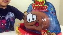 Семейные забавные игрушки для детей горячая картошка игра яйцо сюрприз игрушка Томика Райан ToysReview