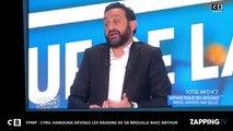 TPMP: Cyril Hanouna révèle les raisons de sa brouille avec Arthur!