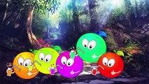 Orange FRUIT Finger Family FRUIT Cartoon Finger Family Nursery Rhymes Collection For Children