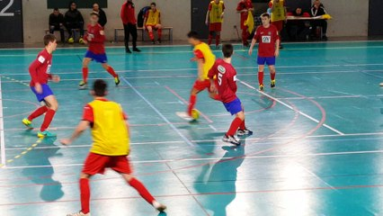 Futsal U17: les dervois se classent premiers