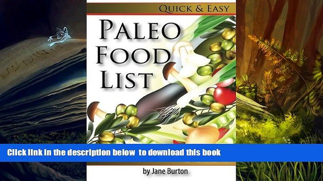 [PDF]  Paleo Food List: Paleo Food Shopping List for the Supermarket; Diet Grocery list of