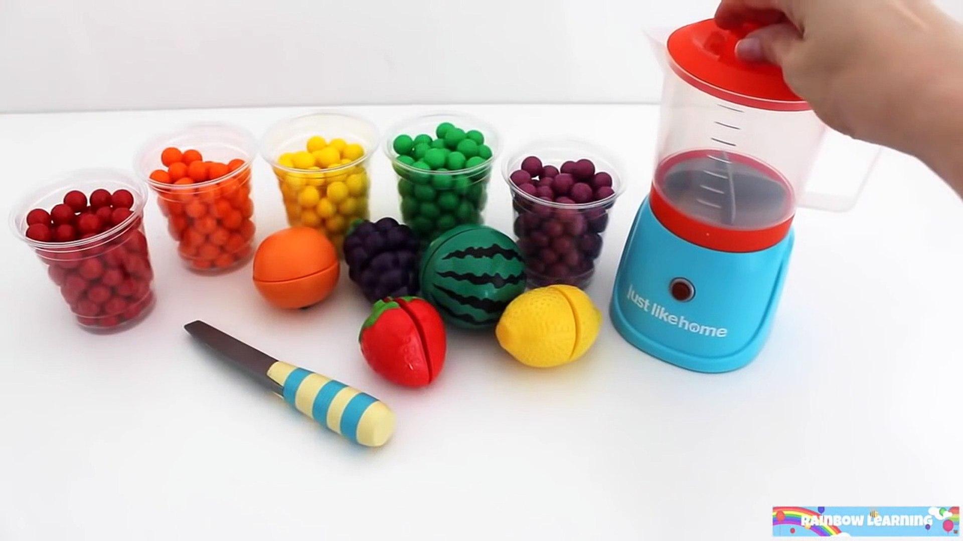 Игрушка Микроволновая печь Pez Candy Play Doh Узнать фрукты и овощи с липучкой игрушки для детей