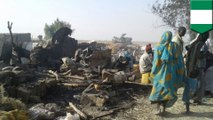Nigerian fighter jet mistakenly bombs refugee camp, killing at least 52 civilians