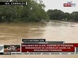 QRT: Malakas na ulan, hangin at pagbaha, naranasan sa Zambales dahil sa masamang panahon