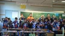 Le MHSC sur les bancs de l'école Victor Schoelcher