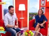 Upskirt frühstücksfernsehen Simone Panteleit