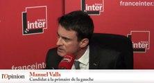 Manuel Valls : «Rien ne m'arrêtera»