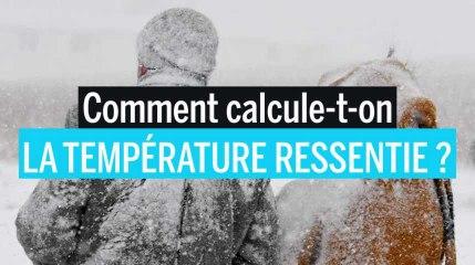 Comment calculer la température ressentie ?