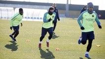 FC Barcelona training session: Last training session before San Sebastian visit