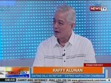 NTG: News to Go In Depth: Panayam kay Ex-DILG secretary/NAPOLCOM chair Raffy Alunan