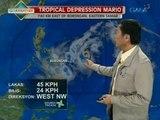 24 Oras: Bagyong Mario, hindi inaasahang magla-landfall