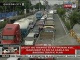 QRT: Daloy ng trapiko sa Katipunan Ave., nagsisikip  pa rin sa kabila ng bagong traffic plan