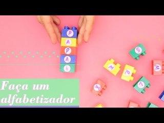 BRINCANDO DE LEGO ALFABETIZADOR