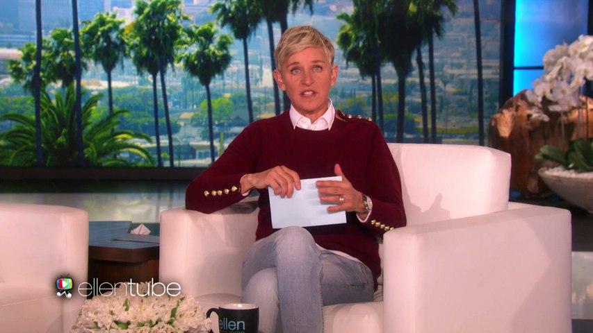 'La La Land,' Starring Ellen