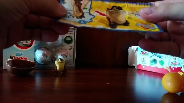 Kinder Surprise Eggs Cartoons Toys Looney tunes Tazz Bugs Bunny | Kids Toys