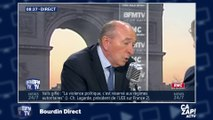 """Gérard Collomb réagit à la gifle de Manuel Valls : """"Je me suis fait entarter, je ne suis pas allé porter plainte !"""""""