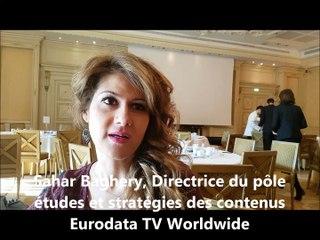 Sahar Baghery, directrice du pôle études et stratégies des contenus chez Eurodata TV Worldwide
