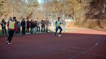Foot, le grimage de Ribéry qui piège des jeunes footballeurs
