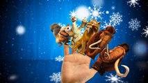 Finger Family Children Nursery Rhymes Ice Age Cartoons | Finger Family Rhymes For Children