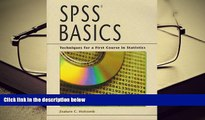 PDF  SPSS Basics: Techniques for a First Course in Statistics For Ipad