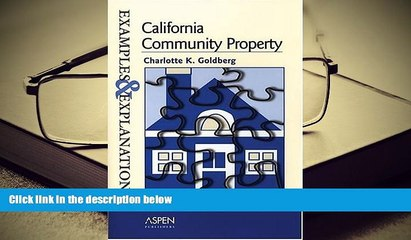 pdf download california community property examples and explanations examples explanations