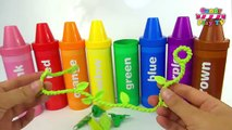 Learn Colours with Pencil Surprises And Toys | Learn Colors with Crayons Sorting Surprises
