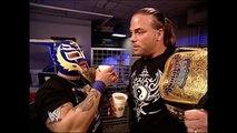 Rey Mysterio & Rob Van Dam & Booker T & Eddie Guerrero Backstage SmackDown 12.30.2004