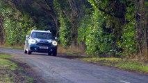 MINI Cooper S Countryman ALL4 in Island Blue Driving Video