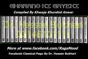 Classical - Gharano Ki Gayeki Vol. 1 - Sham Chorasi - Ustad Salamat Ali Khan - Track 3 - Raag Darbari Tabla Ustad Shaukat Sarangi Ustad Nazim Ali