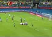 شاهد هدف أكثر من مذهل لاعب غينيا يفجر المفاجأة بهدف ولا اروع في شباك الكاميرون