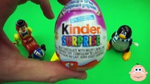 Kinder Surprise Egg Learn A Word! Lesson A Teaching Spelling & Letters Unwrapping Eggs & Toys