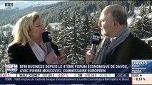Forum Économique de Davos 2017: Interview de Pierre Moscovici - 18/01