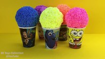 Foam Clay Surprise Toy Batman Paw Patrol Peppa Pig Shopkins Disney Tsum Tsum Minnie Mouse Hot Wheels