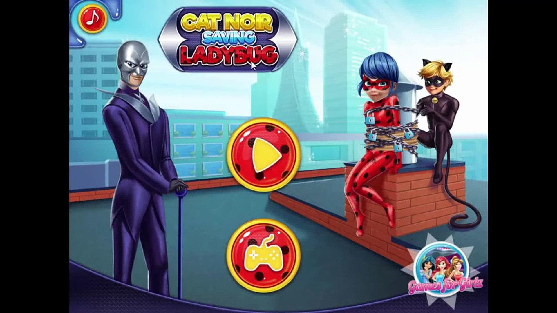 Miraculous Ladybug Games Cat Noir Saving Ladybug Video Dailymotion