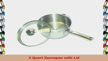 WearEver A83424 Cook and Strain Stainless Steel Sauce Pan with Glass Straining Lid cc3b2dc6