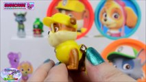 Paw Patrol Learning Colors Play Doh Cans Nick Jr MLP Zootopia Surprise Egg and Toy Collector SETC