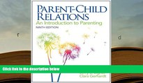 PDF Parent-Child Relations: An Introduction to Parenting (9th Edition) For Kindle