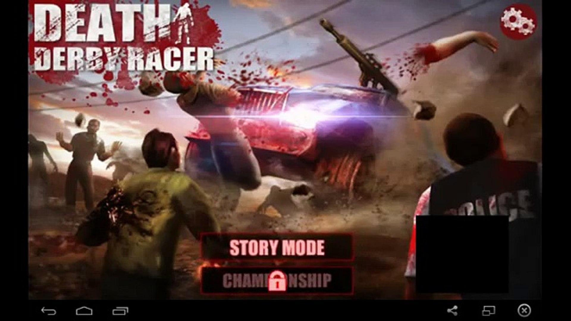 Death Derby Racer Zombie гонки / Death Derby Racer: Zombie Race - for Android and iOS GamePlay