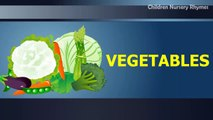 Lets Learn Vegetable - Preschool Learning vegetable names with pictures for children